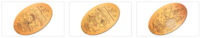 リゾートゲートウェイ・ステーションで販売中の35周年スーベニアメダル