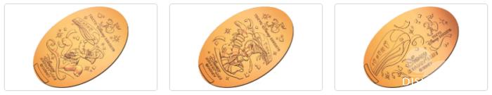 ベイサイド・ステーションで販売中の35周年スーベニアメダル