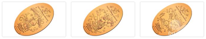 東京ディズニーシー・ステーションで販売中の35周年スーベニアメダル