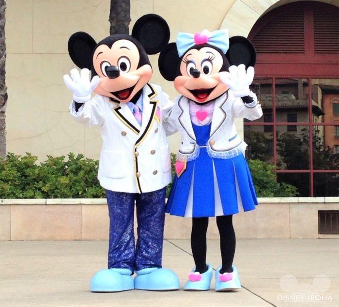【ディズニーシー・プラザ】ミッキーマウス&ミニーマウス