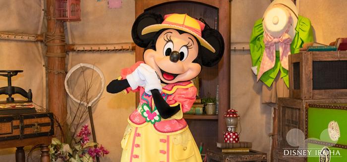 ミニーマウスはファッションを褒めると喜んでくれる