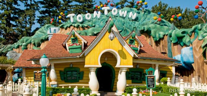 【トゥーンタウン】「ミッキーの家とミート・ミッキー」ではミッキーマウスに会える