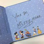 香港ディズニーのキャラグリで貰ったサインを公開!ダッフィーフレンズも対応