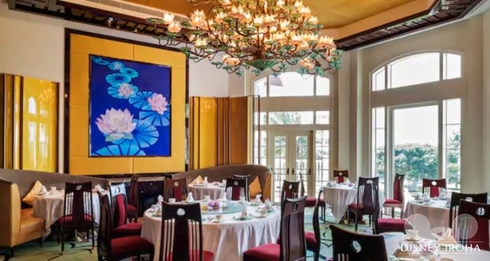 四川、北京、上海、広東料理レストラン「クリスタル・ロータス」