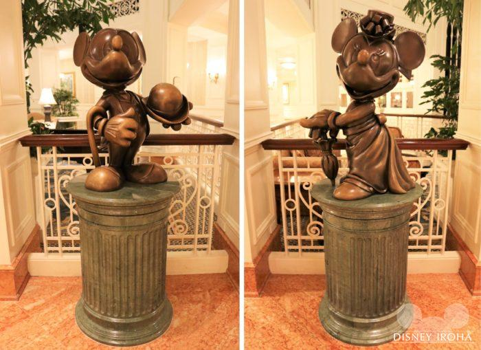 東京ディズニーランドホテルにもあるオブジェ