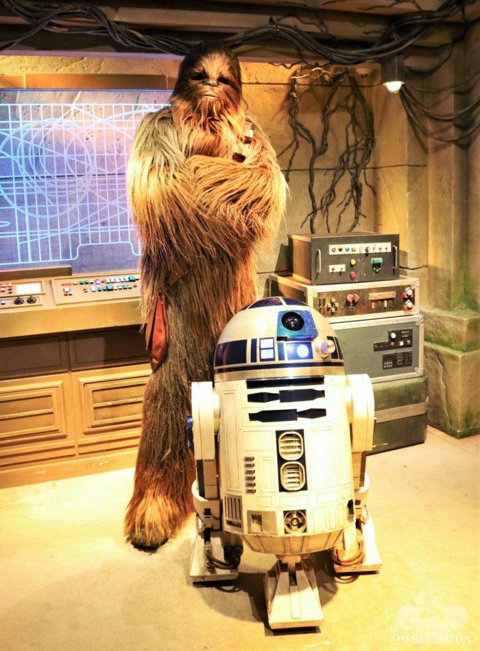 チューバッカ&R2-D2