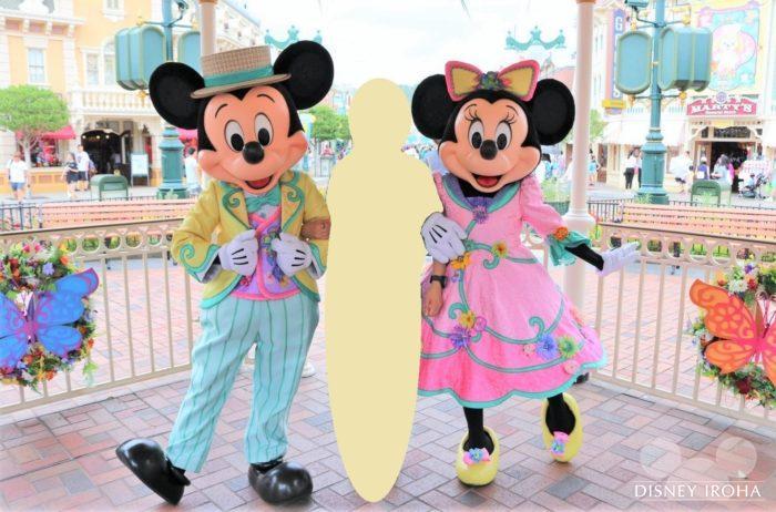 ミッキー&ミニーのペアグリーティング