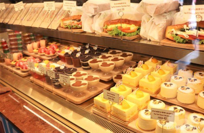 「メインストリート・ベーカリー」のサンドイッチとデザート