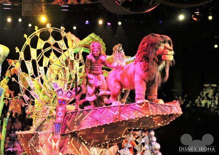 「フェスティバル・オブ・ライオンキング」のワンシーン