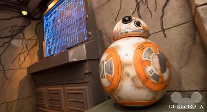 BB-8のグリーティングも実施