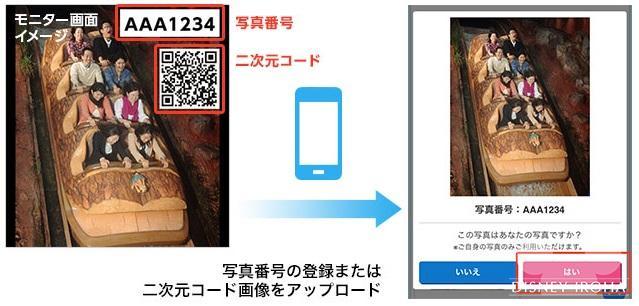 写真をフォトキーカードに登録する方法