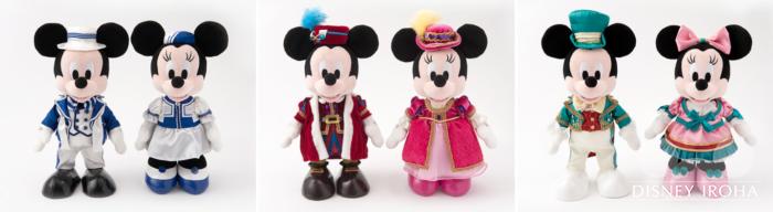 ディズニーホテル宿泊者限定販売のむいぐるみセット