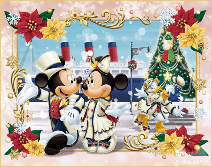 東京ディズニーシーのクリスマス