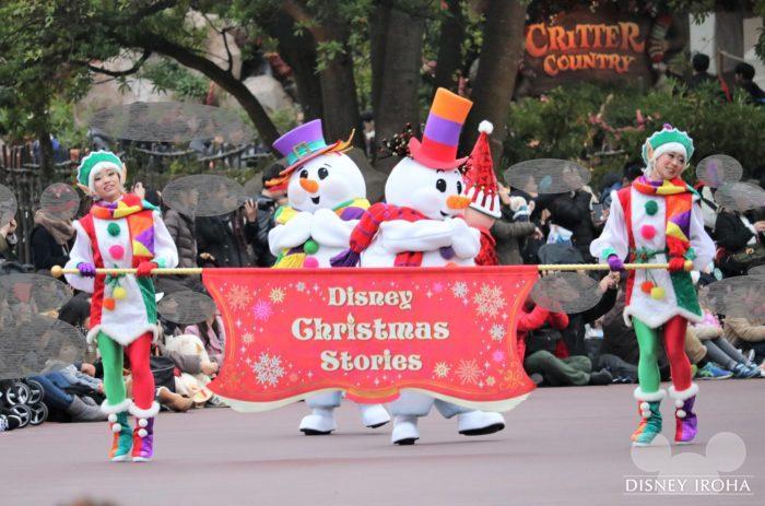 2015年から続く人気パレード「ディズニー・クリスマス・ストーリーズ」を今年も公演中