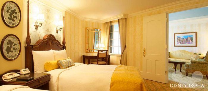 ディズニーランドホテルの客室イメージ1