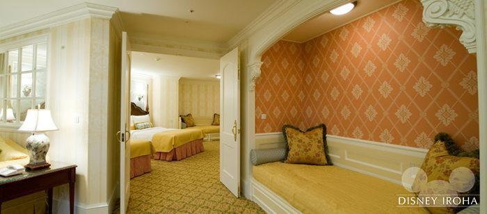 ディズニーランドホテルの客室イメージ2