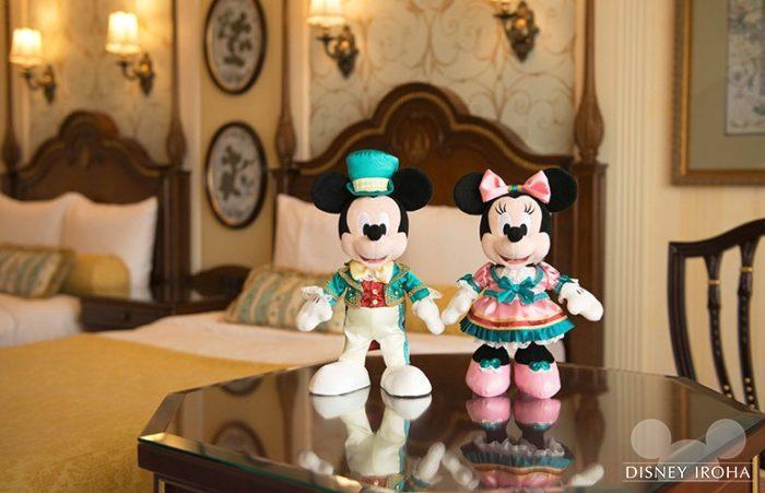 ディズニーランドホテル宿泊ゲストだけが購入できるぬいぐるみセット