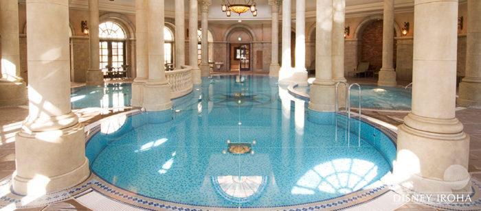 ホテルミラコスタのスパ&プール「テルメ・ヴェネツィア」