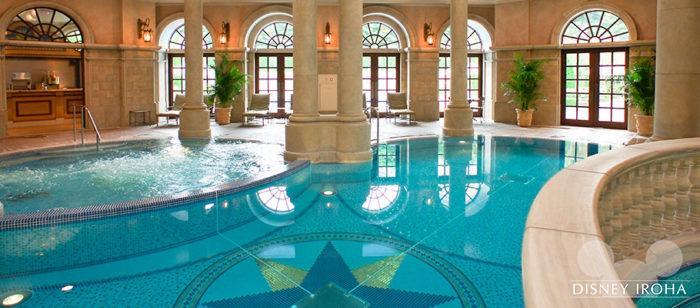 ホテルミラコスタのスパ&屋内・屋外プール「テルメ・ヴェネツィア」