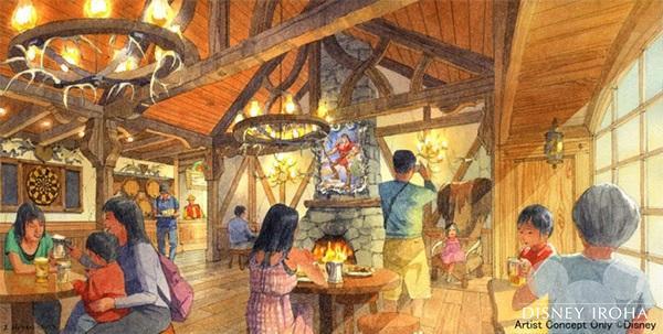「ラ・タベルヌ・ド・ガストン」/ガストンと仲間たちが集う酒場を再現したレストラン