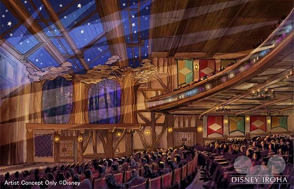 「ファンタジーランド・フォレストシアター」/東京ディズニーランド初の本格的な屋内シアター