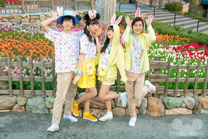 うさピヨや『Tip-Topイースター』のミッキー達をイメージしたファッショングッズが登場