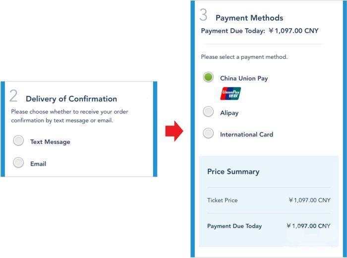 公式サイトからパークチケットを購入する手順5