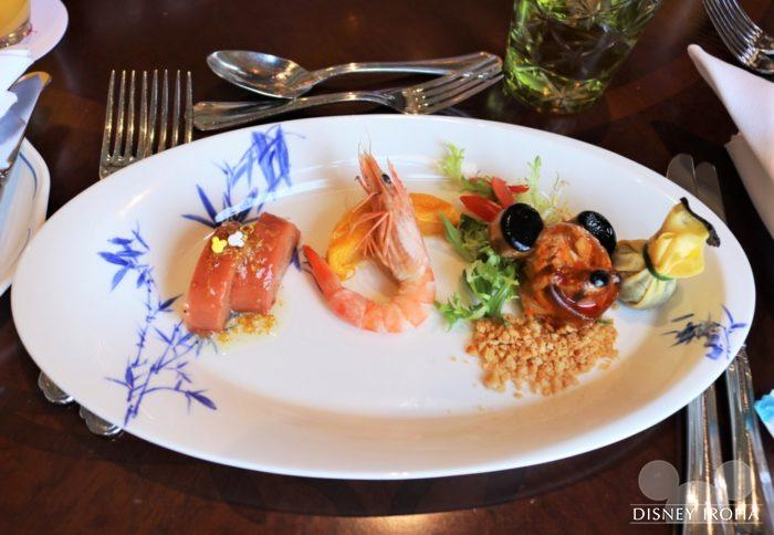 前菜「Selection of Seasonal Appetizer」