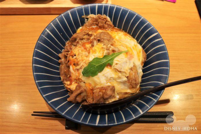 「丼丼屋」の牛肉卵とじ丼