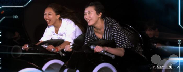スピード・スリル系おすすめ②「トロン:ライトサイクル・パワーラン」