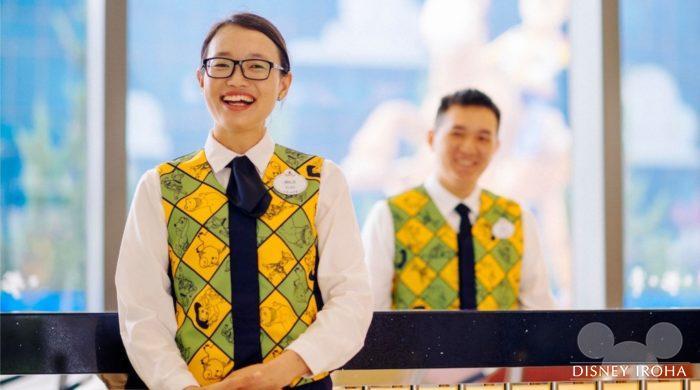 ホテルのキャストさん達はとても親切