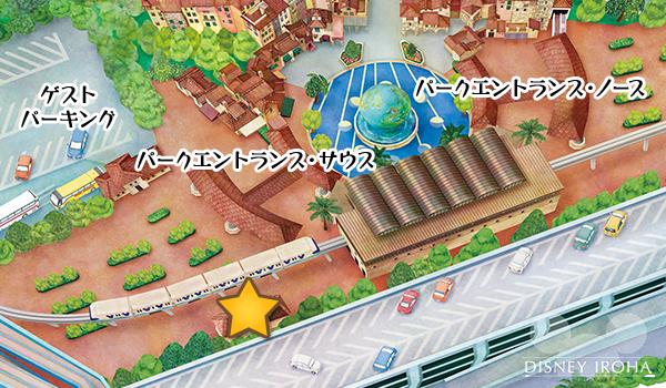 東京ディズニーシーの着替えスペース